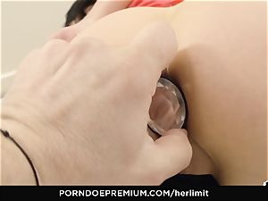 HER restrict - tough ass fucking and face bang with Sasha Rose