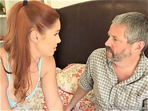 Edyn Blair ravaged By hefty black jizz-shotgun spouse sees