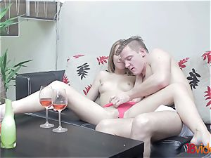 legal Videoz - Alexis Crystal - Morning coffee and hump