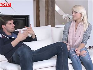 LETSDOEIT - platinum-blonde babe Pays Landowner With scorching bang-out