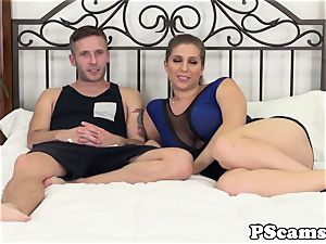 huge-chested cam stunner Alex chance jerking