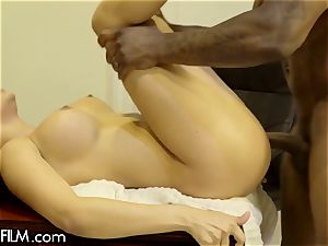 cuckold wifey Aaliyah Hadid luvs Her Bosses big black cock