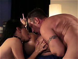 Vicki haunt and Katrina Jade want more than orgy