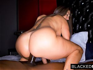 BLACKEDRAW Ava Addams Is penetrating big black cock And Sending images To Her hubby