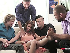 Britney Amber getting group-fucked