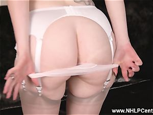 big-titted sandy-haired drains in undergarments antique nylons