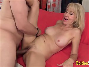 slutty grandmother Erica Lauren Gets Her Mature vulva Eaten and smashed