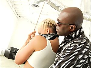 Phoenix Marie getting her elastic booty pulverized with ebony manmeat