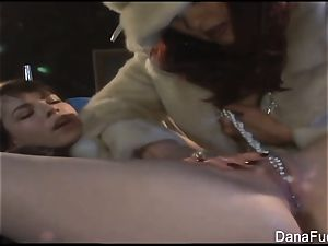 Dana DeArmond gets her poon toyed with