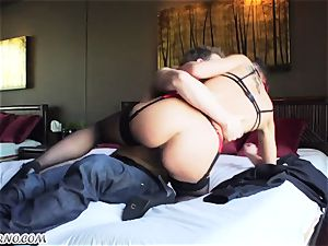 slender rich girl Aidra Fox gets her donk jamming