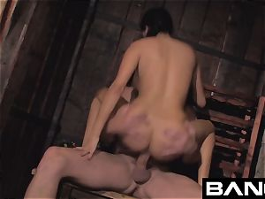 French dark-haired milf Anissa Kate Compilation