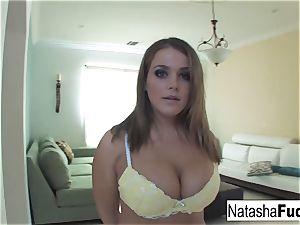 One man sausage Isn't Enough For Natasha