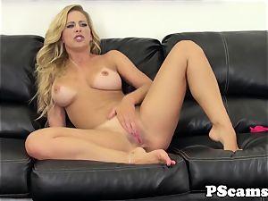 Cherie Deville banged with big black cock on webcam show