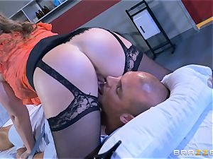 crazy medic Sunny Lane gets hold of her favourite patient