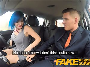 faux Driving college luxurious punk gets her butt penetrated