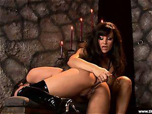 Alluring Charley haunt gets plaything boned by Lisa Ann