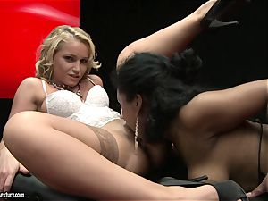 splendid Kathia Nobili enjoys finger plowing her fucking partners succulent raw puss slot