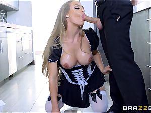 banging torrid warm maid Nicole Aniston