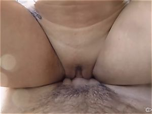 magnificent Gracie Dai humping in the shower