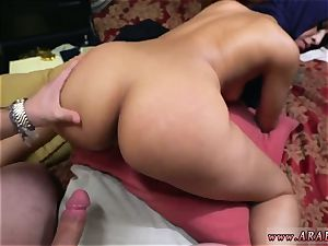 Arab ample rod and muslim female anal Took a sumptuous Refugee home.