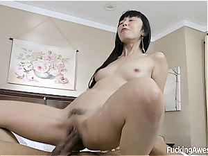 Only meaty dark-hued fuck-sticks can poke her vag the way she luvs it