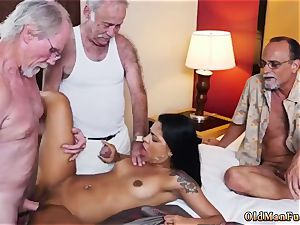 dad smashes playmate playfellow s sonnies female and old duo seduce young Staycation with a