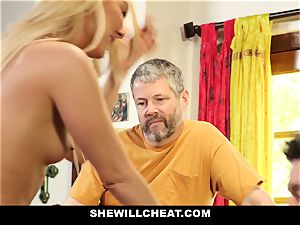 SheWillCheat - Step mommy Cheats on Traveling husband