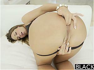 blinding Jada Stevens prepped for hefty penis in her bum