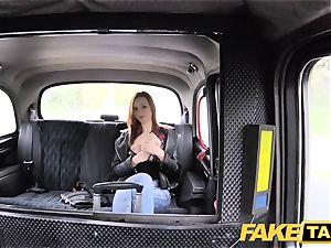 fake taxi slender ginger-haired luvs rough fuck-fest