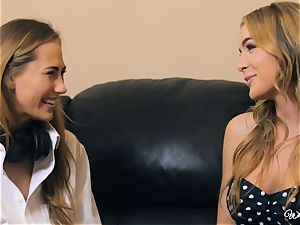 Carter Cruise and Blair Williams enjoy each others steaming cunts