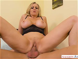 cum thirsty Julia Ann