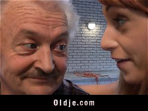 older man's casting a super-fucking-hot teen