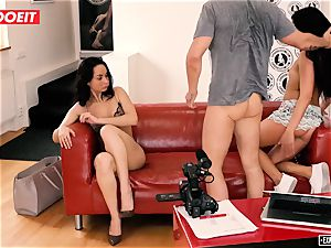 LETSDOEIT - Eveline Brings Her hottest buddy At porn Cast