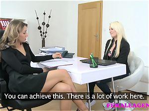 FemaleAgent luxurious schoolgirl seduced by torrid agent