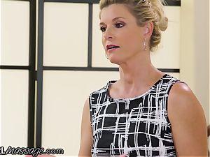 insane nubile Elsa Jean groped by sizzling milf lecturer