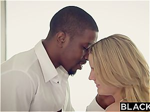 BLACKED beautiful student Marley Matthews And black Producer