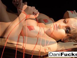 Dani Daniels Has A fun insatiable Side As She Gets tied Up