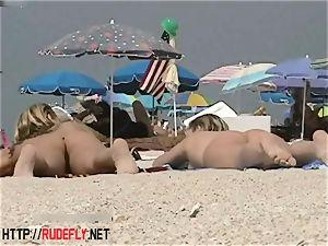 blondie model naturist on the bare beach voyeur movie