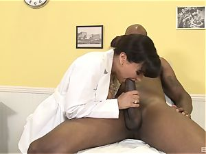 Lisa Ann handsome mummy doc