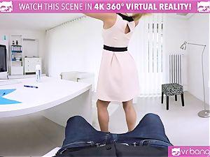 VR PORN-Hot secretary shag Her boss On The Table