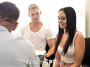 NannySpy parent drills Ariana Marie after caught with son