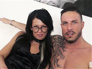 casting ALLA ITALIANA - casting sex for Italian novice