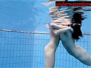 Andrea and Monica underwater women