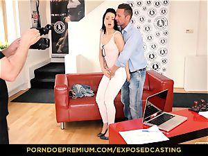 uncovered audition - Taissia Shanti ravaged stiff in her bum