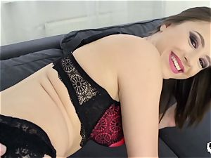 HER restrict - Deep rough assfuck with insatiable euro honey