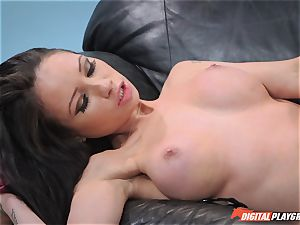 Raven Bay and Kenna James finger plow one another