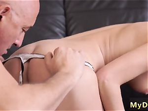 old doll tribbing and father wrestling He couldn t believe how deep this small mouth can