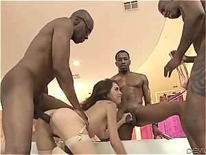 Riley Reid gang-fucked by BBCs