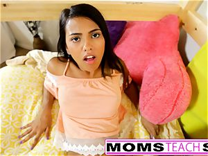 MomsTeachSex - mommy And daughter-in-law play With parent Gone