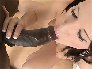 full blowage Lips and point of view screwing multiracial hard-core